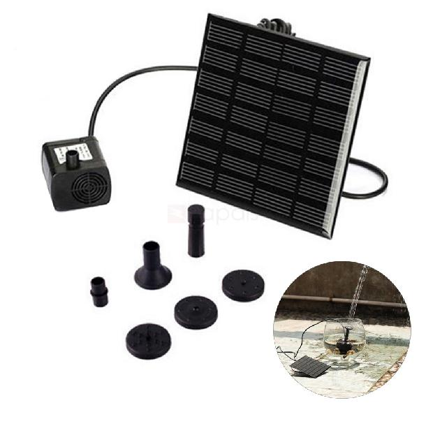 Solar Powered Pond Pump Water Fountain Kit for Garden Pool
