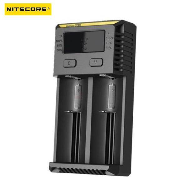 NITECORE New i2 Smart Battery Charger for Li-ion/IMR/LiFePO4/Ni-MH(NiCd)